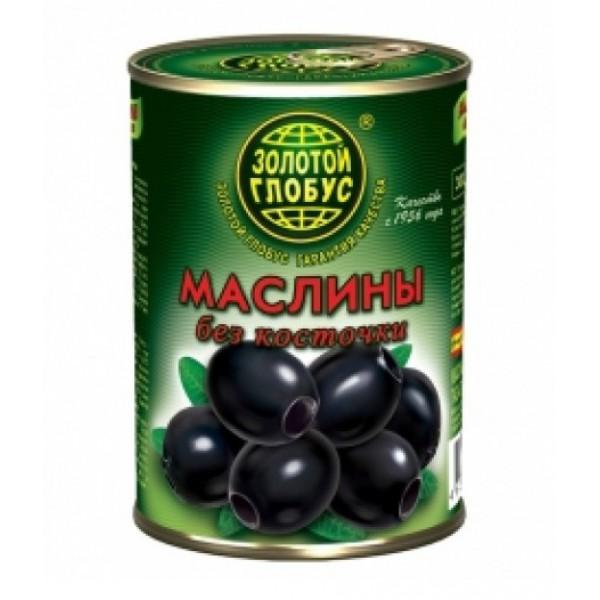 """Маслины   """"Золотой глобус"""" б/к 280гр.  ж/б 1/12"""