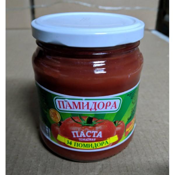 томатная паста  0,5л
