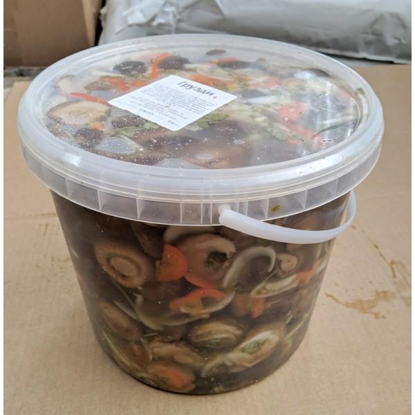 Салат грузди по-корейски (5 кг)