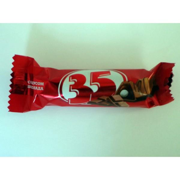"""МАХЕЕВЪ Конфеты """"35"""" со вкусом шоколада 1,5кг (Конфеты """"35"""" со вкусом шоколада 1,5кг МАХЕЕВЪ**)"""