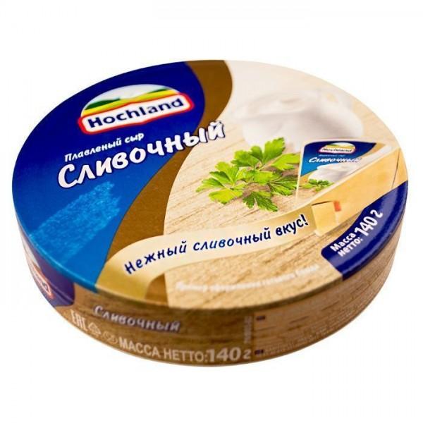 Плавл. сыр Hochland Сливочный 140 г