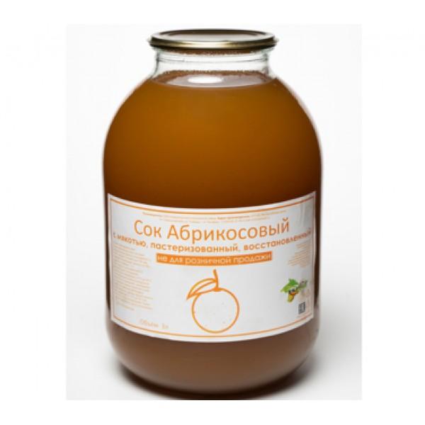 Сок абрикосовый восстановленный 3л