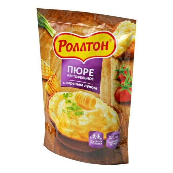 Пюре картофельное с жаренным луком д/п 240г 10шт ТМ Роллтон