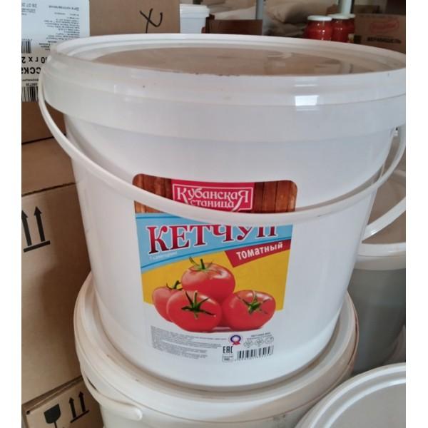 Кетчуп томатный ведро 5,5кг