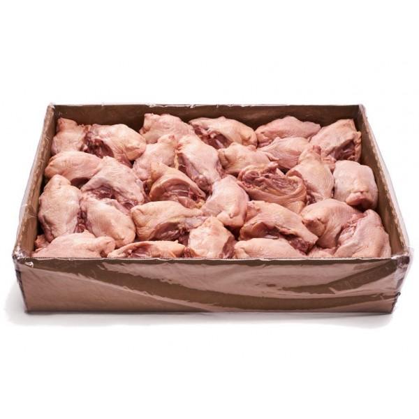 Полуфабрикат из мяса цыпленка-бройлера натуральный ПОЯСНИЧНО-КРЕСТЦОВАЯ ЧАСТЬ замороженная весовая,