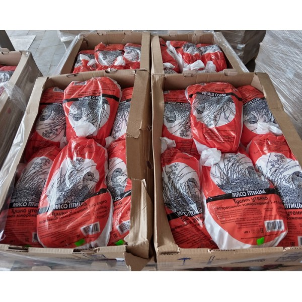 Утка ГОСТ (ф/п) 1 с калибр 1,8 кг (6шт) 1/11 кг