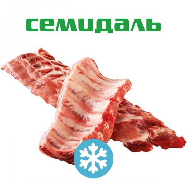 """Ребрышки свиные ЗАМОРОЖЕННЫЕ п/ф мясокостный категории """"Г"""""""