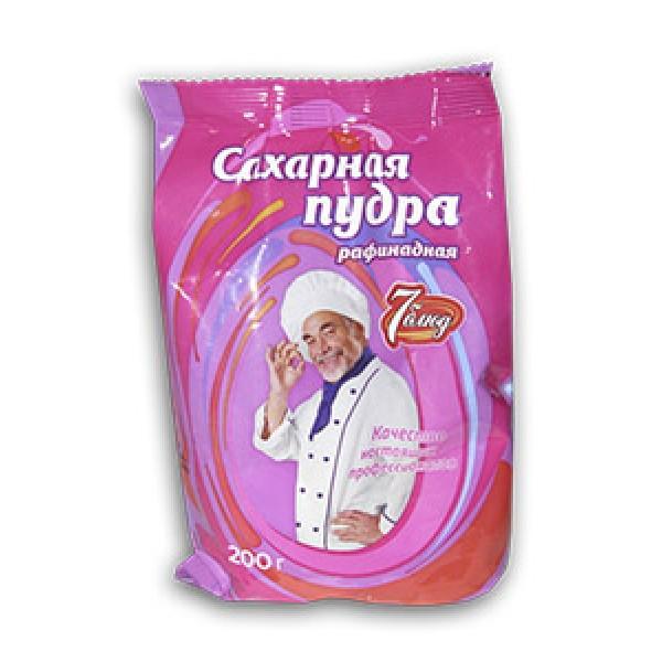 Сахарная пудра 200г 24 шт 7 Блюд