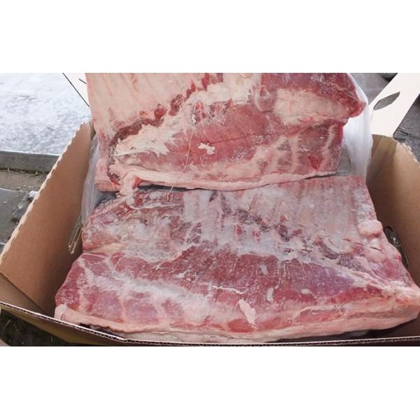 Грудинка свиная н/к 1/~18 кг