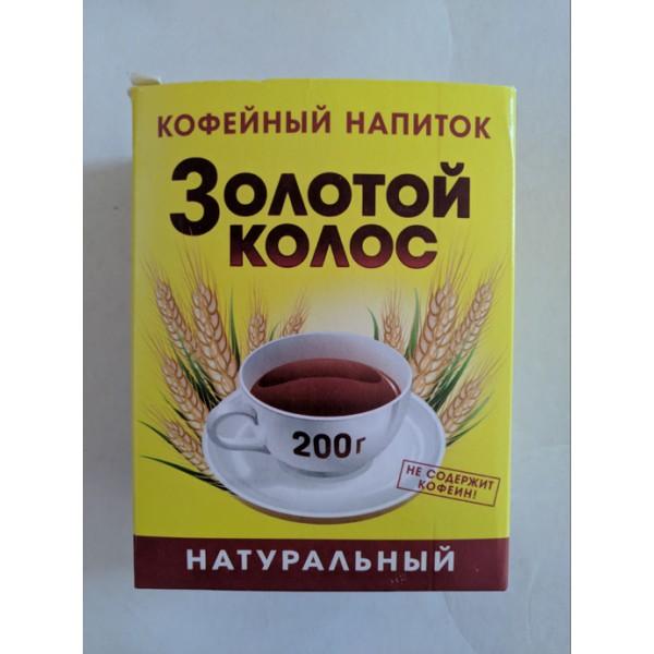 """Кофейный  напиток """"Золотой  Колос"""" 200гр* 20шт """"Вокруг Света"""""""