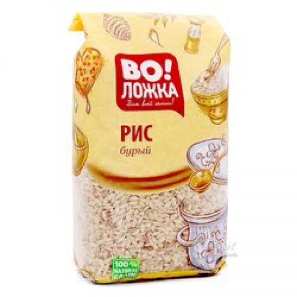 Крупа рисовая отборная-бурый 800/8 ТМ Воложка (4607070080930)