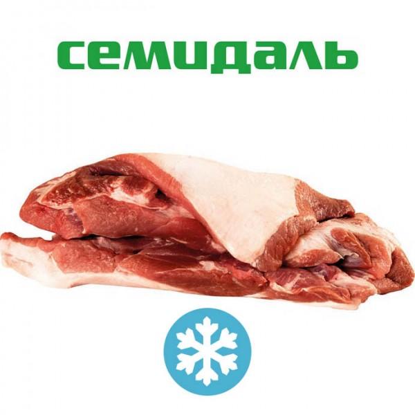 Плечевой отруб свиной без голяшки бескостный ЗАМОРОЖЕННЫЙ (вакуумный пакет)