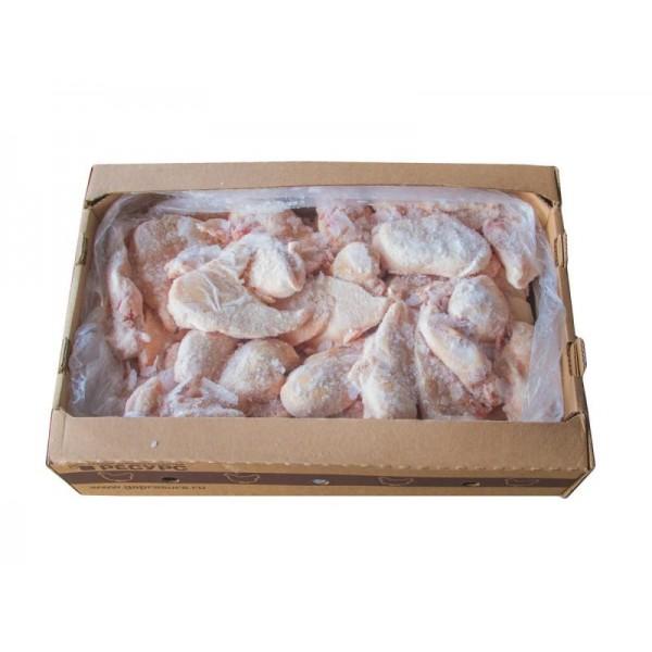 Полуфабрикат из мяса цыпленка-бройлера натуральный ГРУДКА замороженная весовая, 12кг
