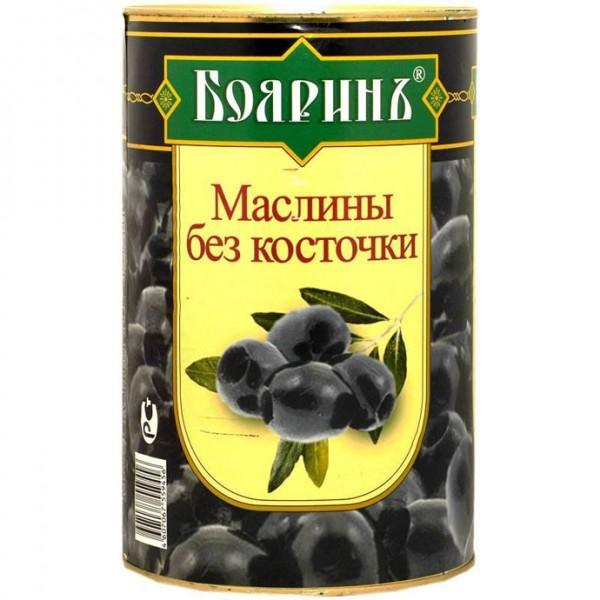 """Маслины б/к """"Бояринъ"""" 4250мл ж/б 1/6"""