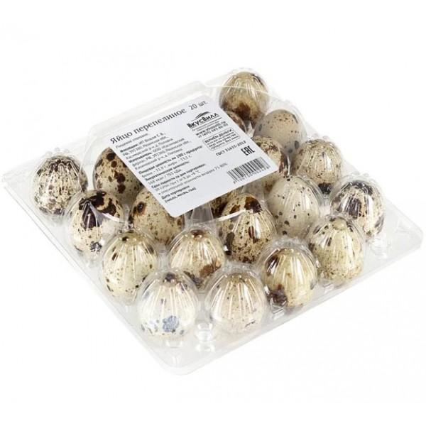 Яйцо  перепелиное фас. 20шт.(24)