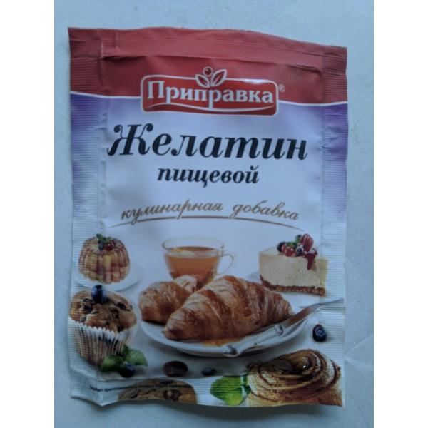Желатин пищевой  15г 30шт ТМ Приправка (10.07.2019 10.07.2020)