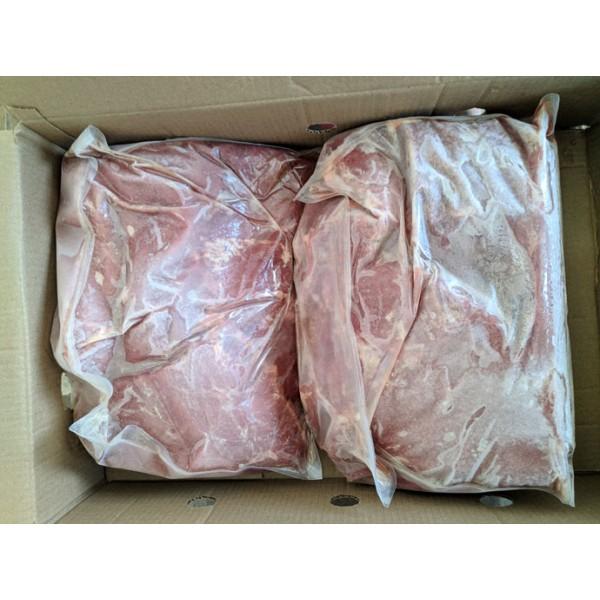 Замор. мясные блоки из жилов. говяд. с мас долей соед. и жир. тканей не более 10%