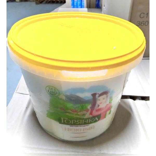 Сыр нежный -МП с ЗМЖ по тех.сыра НЕЖНЫЙ ГОРЯНКА 40 % 4 КГ(10шт-07.10.20)