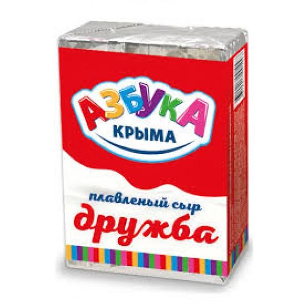 "Сыр плавленный ""Дружба"" мдж 55% 70гр/50шт"