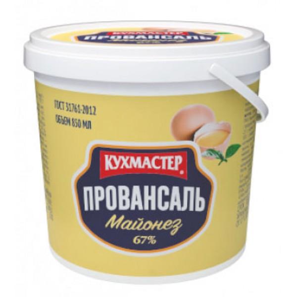 """Майонез """"Провансаль для профессионалов"""" 67% 5 л Кухмастер"""