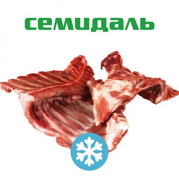 Шейные позвонки свиные с подлопаточным и ребрами замороженные
