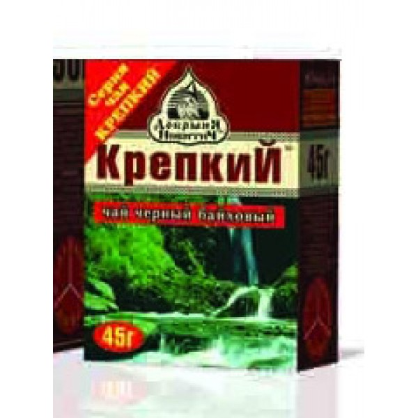 Чай Крепкий лист 45гр.*240 шт ТМ Добрыня-Дар