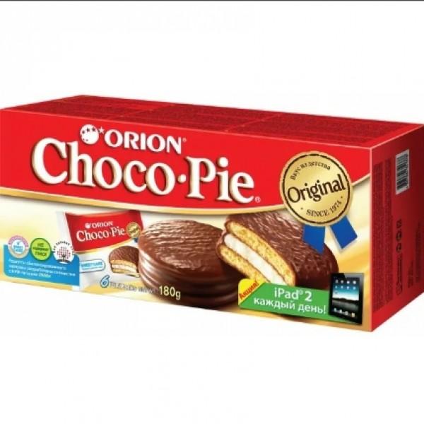 Choco Pie 180гр (6*30гр) 16шт ОРИОН