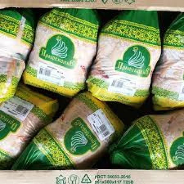 Тушки цыплят-бройлеров 1 сорта [фирм.пакет ПВД) 7 калибра (охл.)/13