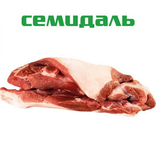 Плечевой отруб свиной без голяшки бескостный ЗАМ. в вакуумной упаковке