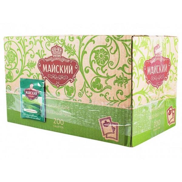Чай Майский HORECA Зеленый  200шт. сашет/1