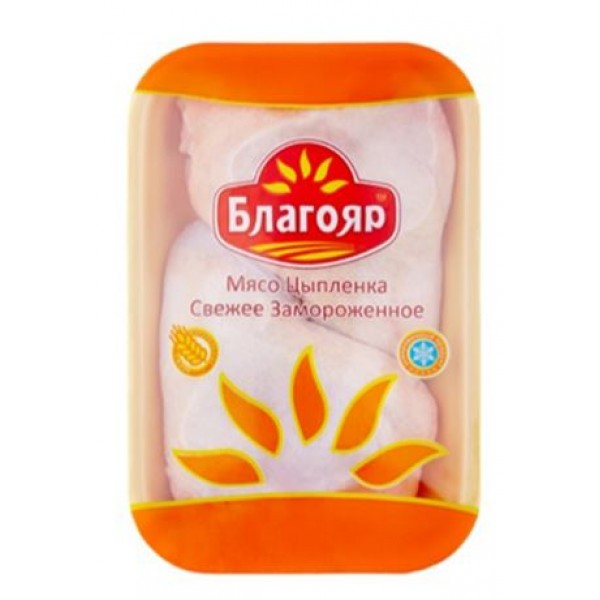 "Окорочок ЦБ ""Благояр"" зам.лоток п/ф/ 8 кг(м309)"