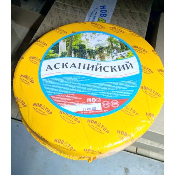 """Сырный продукт """"Асканийский"""" Молочный доктор 5-7кг/2шт"""