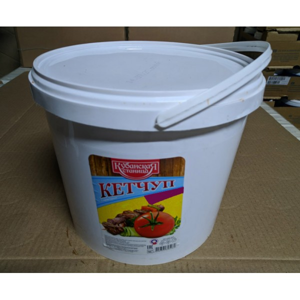 Кетчуп томатный пласт.ведро  5,5кг.