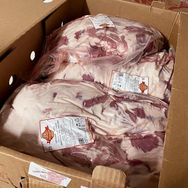 Плечевой  отруб  свиной без кости (Охл.)