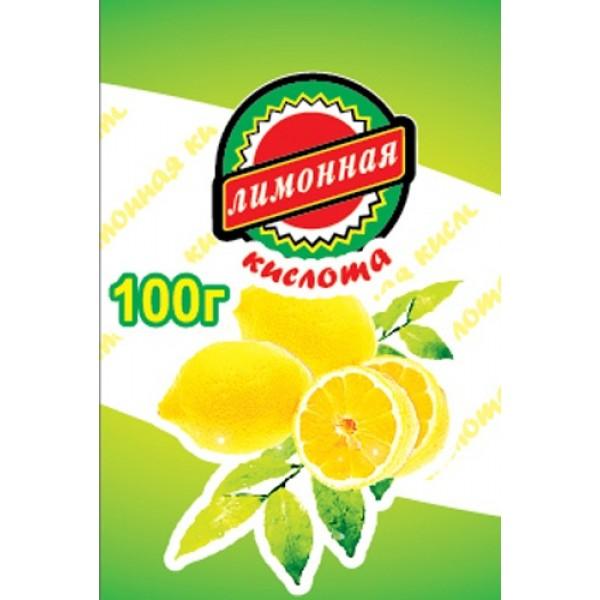 """Лимонная кислота """"Солнечный Остров"""" 100гр. 1/60"""