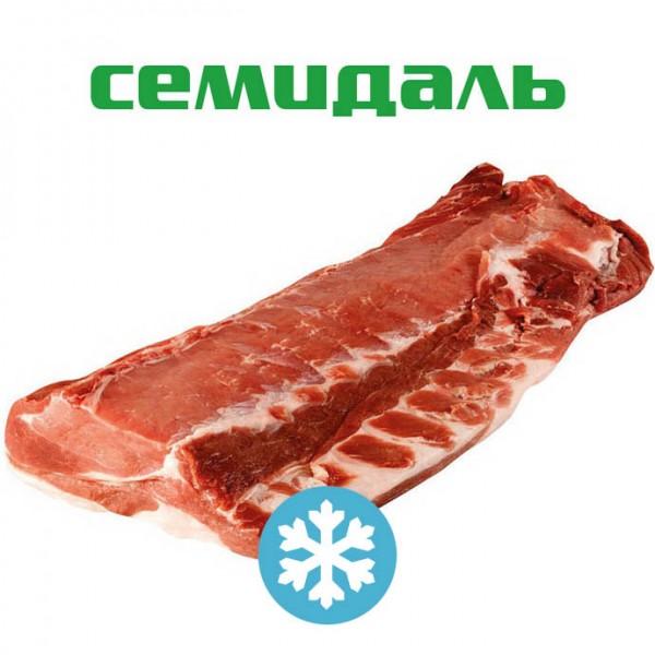 Спинно-поясничный отруб свиной бескостный ЗАМОРОЖЕННЫЙ (вакуумный пакет)
