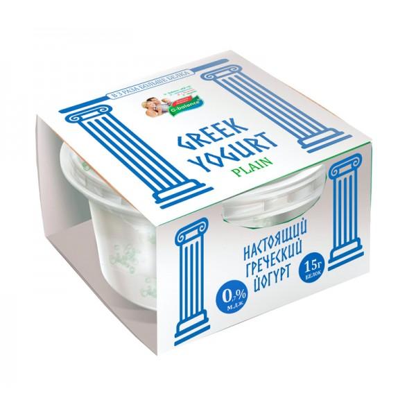 Йогурт греческий G-balance 0,7% 0,17л пл/стакан*6