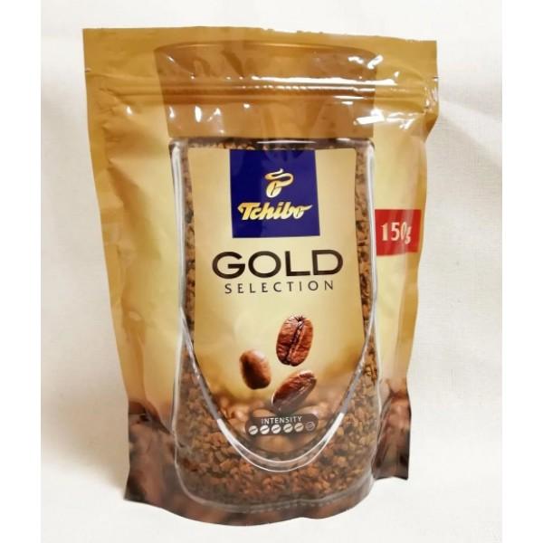 Кофе Голд Селекшн растворимый пакет 150г 12шт Чибо