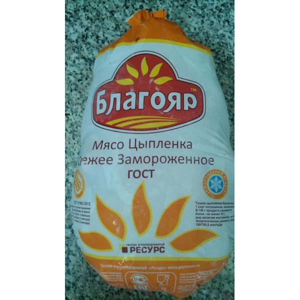 """Тушка ЦБ  """"Благояр""""зам.пакет 1 сорт 14 кг (м271)"""
