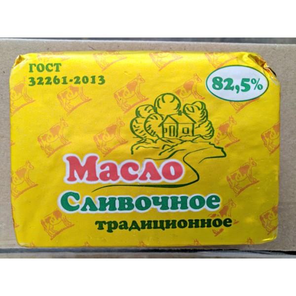 """Масло """"Лучший продукт"""" Традиционное сладко-сливочное несоленое 82,5% монолит 5кг ЕАЭС N RU Д-RU.РА01"""