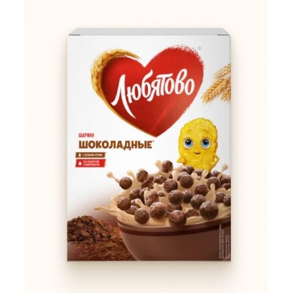 Шарики шокол. 250г 10шт ТМ Любятово
