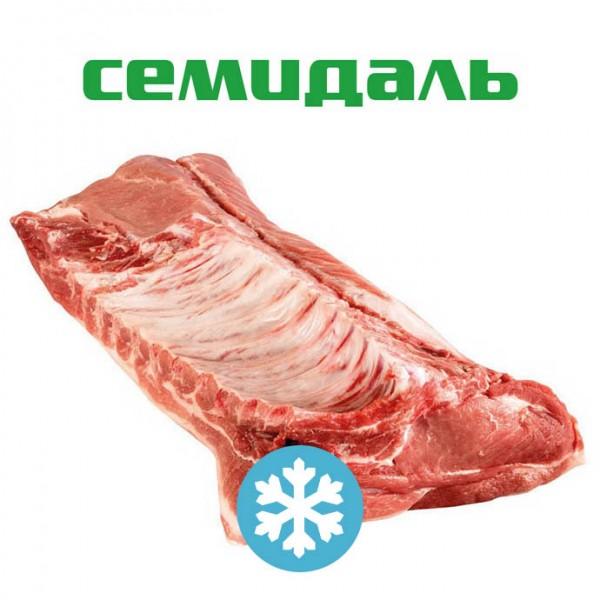 Спинно-поясничный отруб свиной с ЧАСТЬЮ РЕБЕР ЗАМОРОЖЕННЫЙ (вакуумный пакет)
