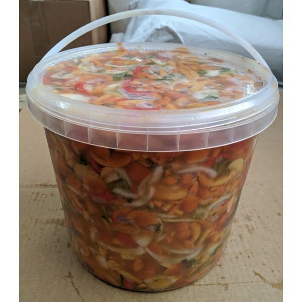 Салат опята по-корейски (5кг)