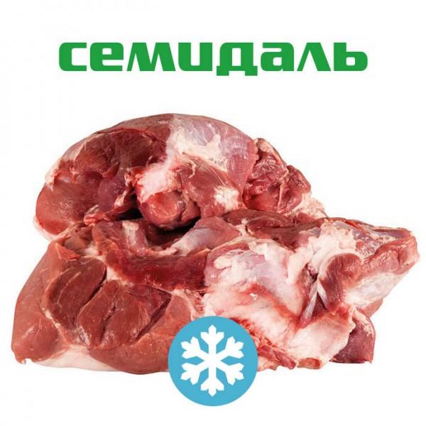 Тазобедренный отруб свиной без голяшки бескостный ЗАМОРОЖЕННЫЙ (вакуумный пакет)