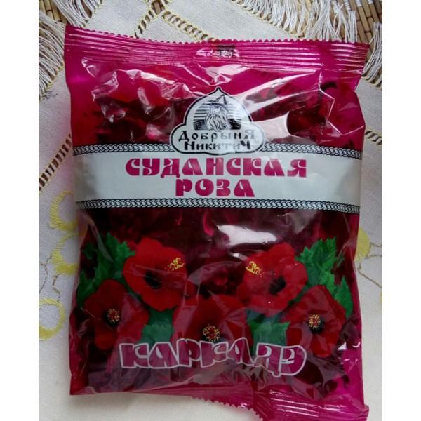 Чай  Суданская роза 70г*80штТМ Добрыня-Дар