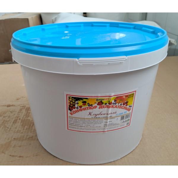 Конфитюр деликатесный клубничный 12,5 кг