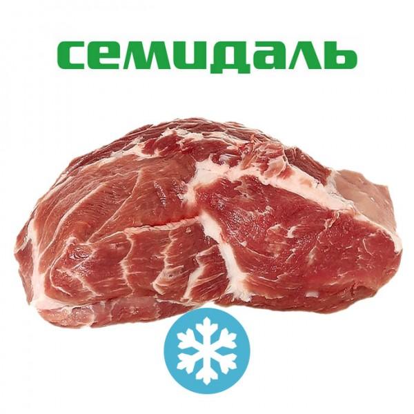 Шейный отруб свиной бескостный ЗАМОРОЖЕННЫЙ  (вакуумный пакет)