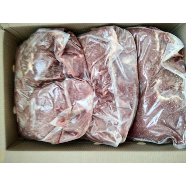 Блоки из жилов мяса говяд. замор. с масс. долей соед. и жир. ткани не б. 3%В/С14.02.19-13.02.22