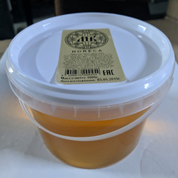 Мед  (ведро 1кг)  весовой