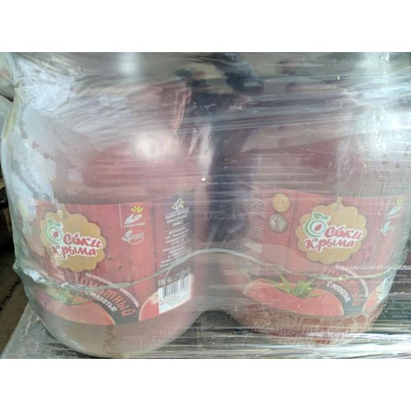 сок томатный   прямого отжима.3л